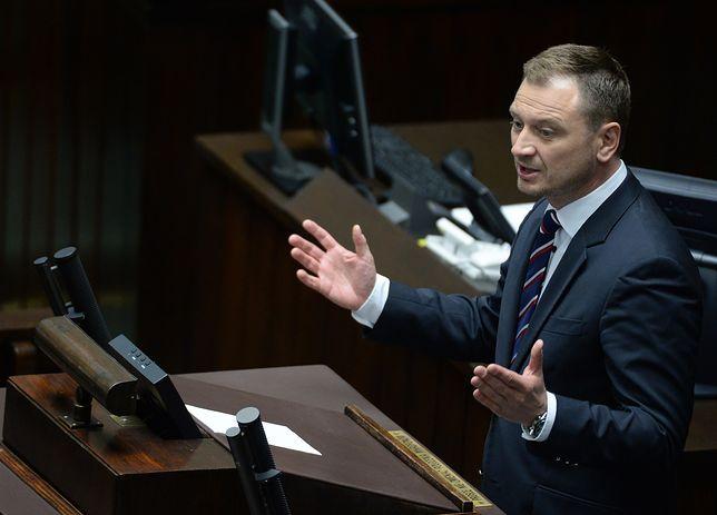 Sławomir Nitras powiedział, że wniosek o delegalizację ONR leży na biurku Zbigniewa Ziobry od zeszłego roku