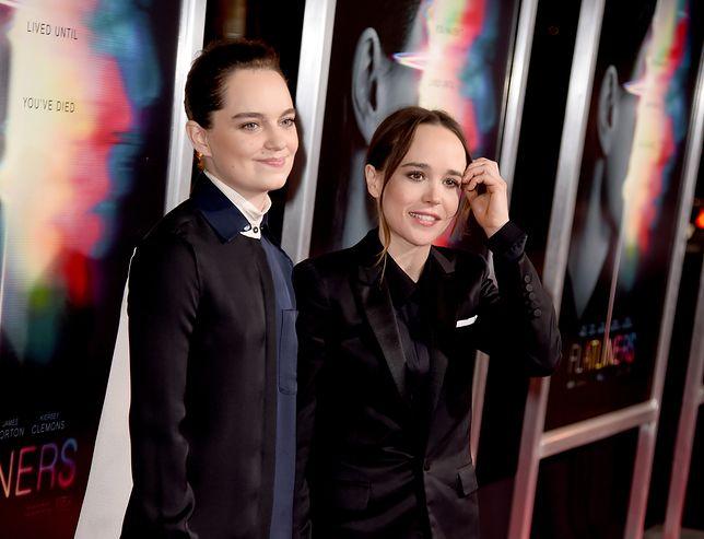 Od lewej: Emma Portner i Ellen Page