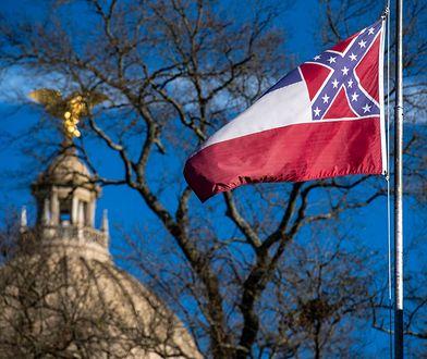 USA. Flaga stanu Missisipi do zmiany