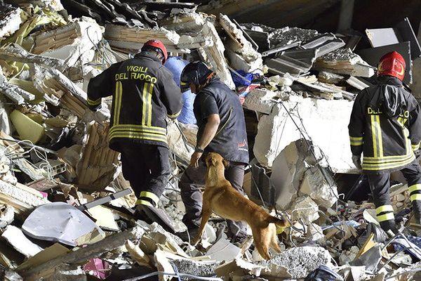 Trzęsienie ziemi we Włoszech. Najnowszy bilans: 67 zabitych, blisko 400 rannych. Obcokrajowcy wśród ofiar