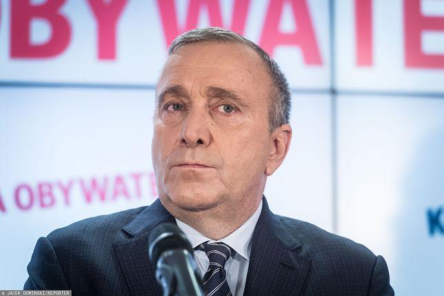 Media: Grzegorz Schetyna rozważa wycofanie się ze startu na przewodniczącego PO