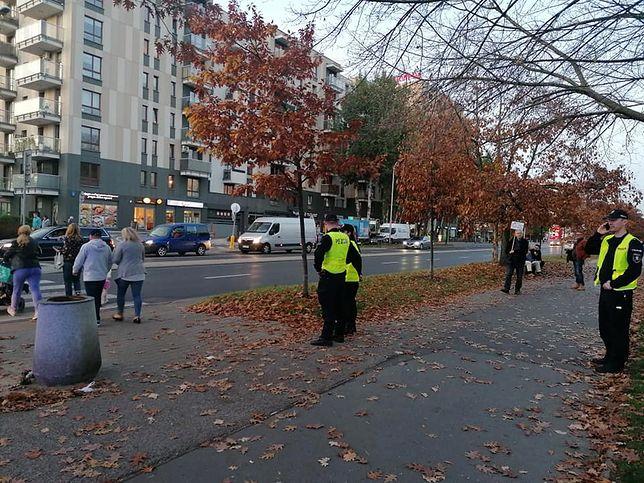 Warszawa. Tragiczny wypadek na Bielanach. Mieszkańcy mają dość. Jesteśmy na proteście