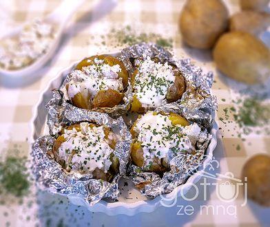 Ziemniaki w mundurkach faszerowane