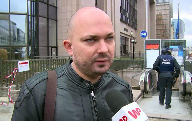 Polak mieszkający w Brukseli: nie czuję się bezpiecznie w tym mieście
