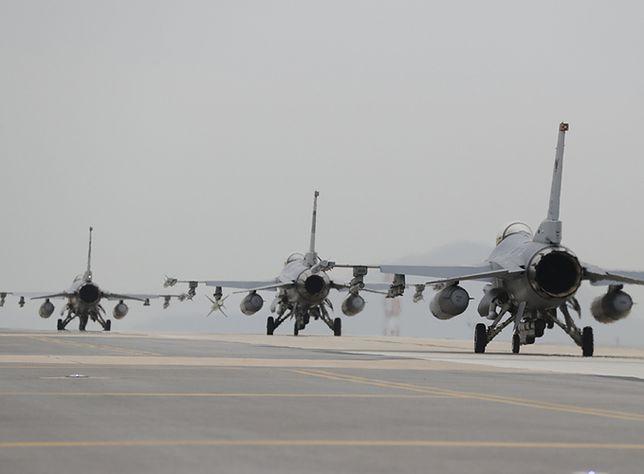 Wypadek F-16 w Houston. Ewakuowano mieszkańców okolicy