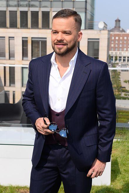 Michał Piróg pochwalił się zdjęciem z młodości