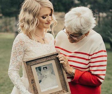 Jordyn z babcią Penny