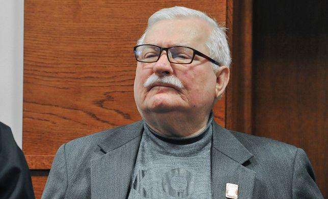 Lech Wałęsa nie powstrzymał się od wpisów w dniu pogrzebu