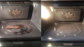 Genialny trik młodej mamy na wyczyszczenie piekarnika (WIDEO)