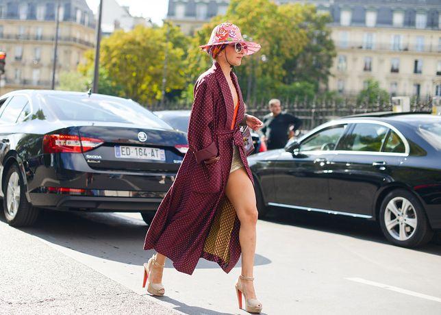Gwiazdy mody w Paryżu