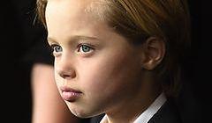 Dziwne zachowanie 9-letniej córki Angeliny Jolie