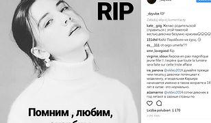 14-letnia modelka Włada Dziuba zmarła z wycieńczenia w czasie pokazu mody