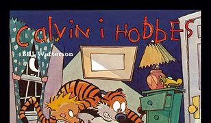 Calvin i Hobbes. Coś się ślini pod łóżkiem.