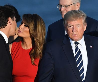 Melania Trump i premier Kanady Justin Trudeau