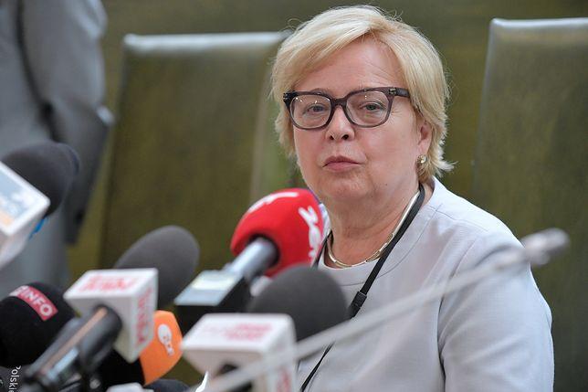 """Małgorzata Gersdorf zapewniła, że ma już """"grubą skórę"""""""