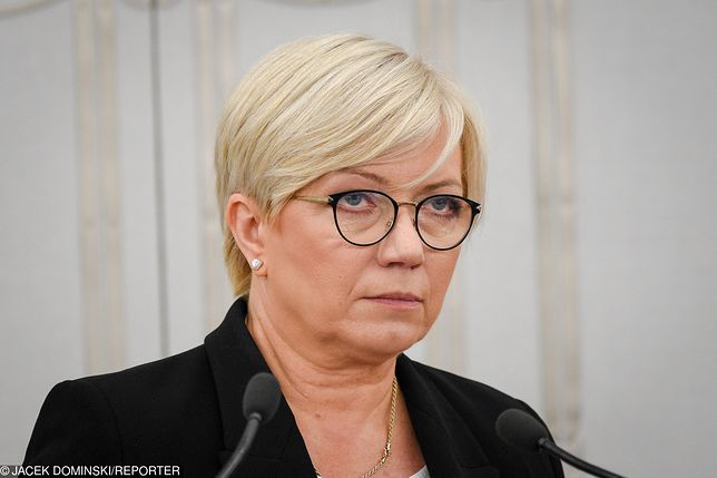 """Julia Przyłębska krytykę opozycji nazywa """"rozpasaniem epitetowym"""""""
