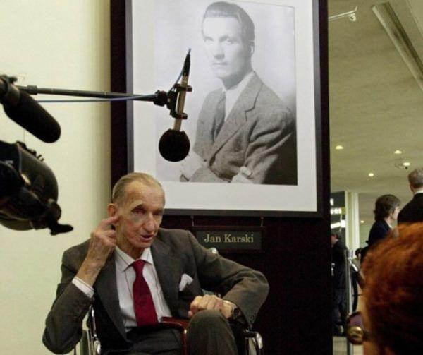 Jan Karski w 2000 roku