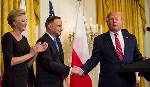 Donald Trump obiecał, że wizy dla Polaków zostaną zniesione