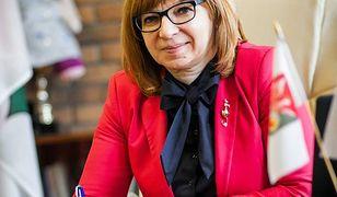 Burmistrz Wołomina Elżbieta Radwan
