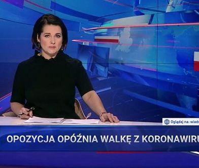"""""""Wiadomości"""" TVP szukają winnych pandemii. Obciążają opozycję"""