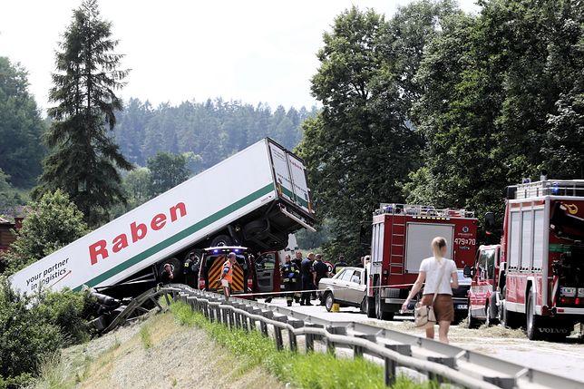 Wypadek w Tenczynie