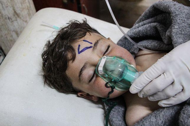 UE potępia użycie broni chemicznej w Syrii