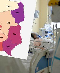Pierwsze regiony płacą za brak szczepień. To tam jest najwięcej zakażeń i hospitalizacji z COVID-19