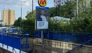 Warszawa. Dwaj mężczyźni wbiegli do tunelu metra. Dziesięć stacji było wyłączonych z ruchu