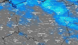 Pogoda. Burze i ulewy utrzymają się na północy oraz północnym wschodzie do wieczora