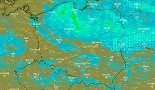Pogoda. Przelotne opady deszczu możliwe są także w regionach południowych