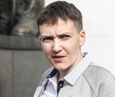 Nadija Sawczenko została oskarżona o planowanie zamachu stanu