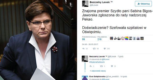 Akcja #Misiewicze trwa dalej? Tym razem posada dla znajomej pani premier