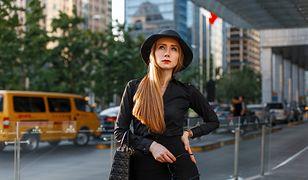 Czarna bluzka to klasyczna propozycja dla kobiet w każdym wieku