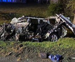 Wypadek w Świebodzinie. Samochód osobowy zderzył się z ciężarówką