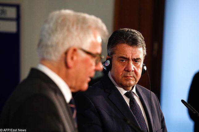 Sigmar Gabriel podał pomocną dłoń polskiej dyplomacji