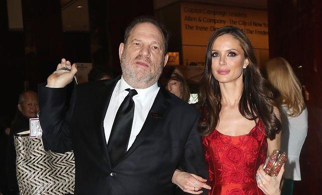 Harvey Weinstein z żoną Georginą Chapman