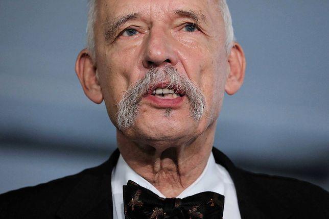 Janusz Korwin-Mikke zauważył, że w pewnych sprawach zgadzał się z Kornelem Morawieckim