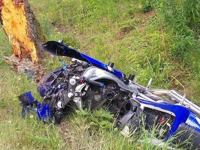 Wypadek w województwie warmińsko-mazurskim. Nie żyje 32-latek