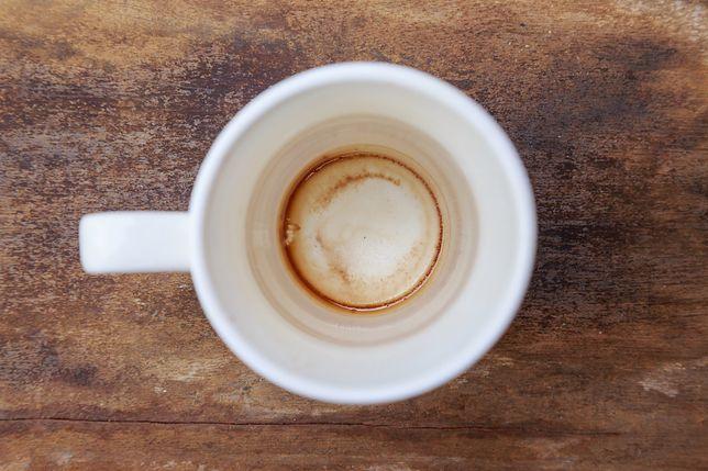 Osad z kawy i herbaty potrafi obrzydzić picie ulubionego napoju