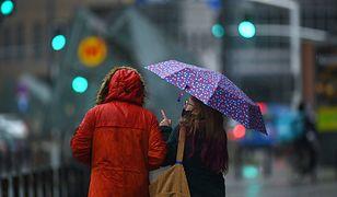 Pogoda. Warszawa. W czwartek będzie padać