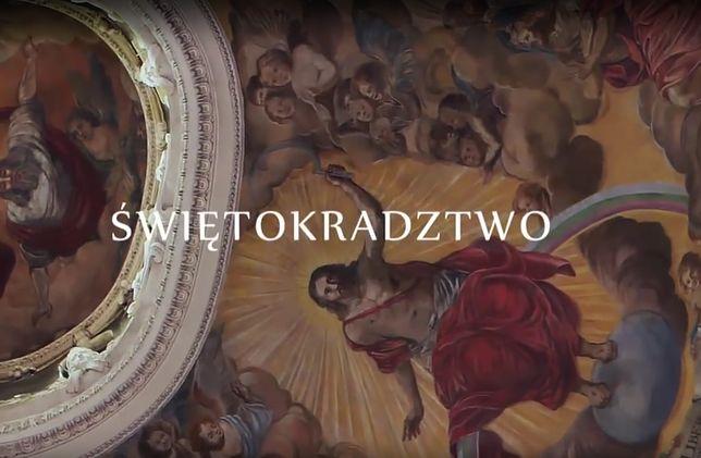 """Telewizyjna premiera """"Świętokradztwa"""" odbędzie się 2 kwietnia o 12:20 w TVP1"""