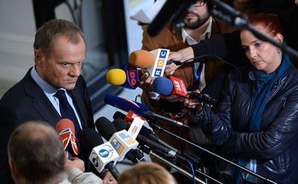 Tusk: program naprawczy warunkiem pożyczki dla Mazowsza
