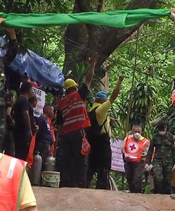 """Akcja ratunkowa w Tajlandii. Uratowani chłopcy """"mają oznaki infekcji"""""""