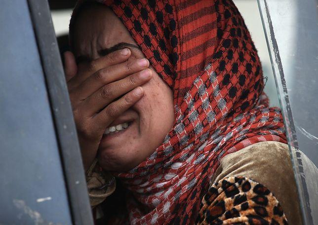 Uratowano do tej pory ok. 4 tys. kobiet. Reszta wciąż pozostaje brankami bojowników.