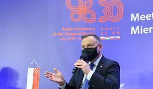 """V4. Andrzej Duda o działaniach na rzecz środowiska: """"Jak najszybciej i rozsądnie"""""""