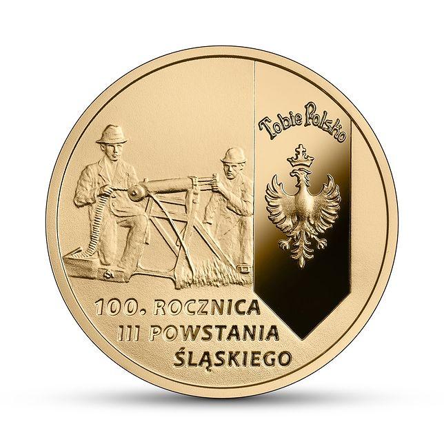 Monety z okazji 100. rocznicy III Powstania Śląskiego wprowadzi NBP