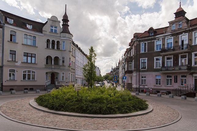 Fragment ulicy Wajdeloty czeka remont.