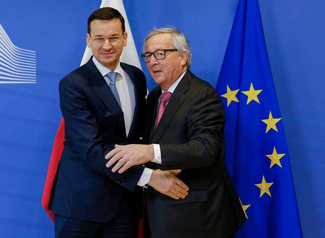 Mateusz Morawiecki spotkał się w Brukseli z Jean Claude Junckerem
