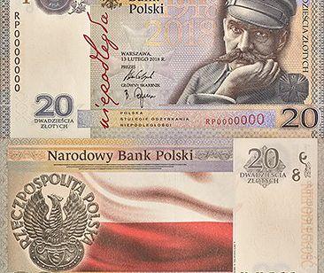 Tak będzie się prezentował nowy banknot kolekcjonerski