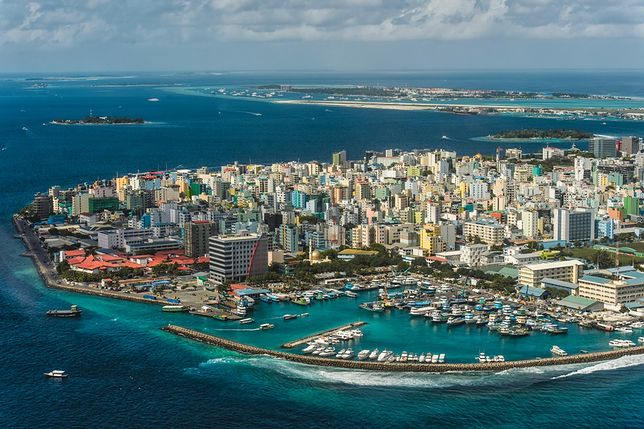 Male to najbardziej zaludnione miejsce Malediwów